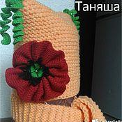 Работы для детей, ручной работы. Ярмарка Мастеров - ручная работа Шапка и шарфик. Handmade.