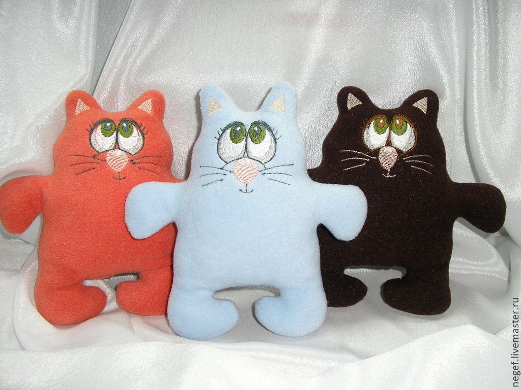 Коты игрушка своими руками в картинках