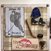 """Открытки ручной работы. Ярмарка Мастеров - ручная работа """"Моему хоккеисту!"""". Handmade."""