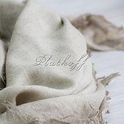 Аксессуары handmade. Livemaster - original item Wool scarf with monogram Louis Vuitton