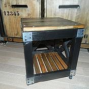 Для дома и интерьера ручной работы. Ярмарка Мастеров - ручная работа Тумба-столик ЛОФТ. Handmade.