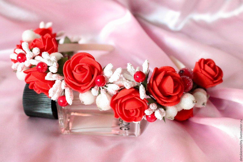 Ободочки из цветов