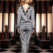 """Одежда ручной работы. Ярмарка Мастеров - ручная работа Костюм """"Nordic"""" серый. Handmade."""