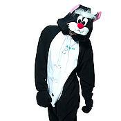 Субкультуры handmade. Livemaster - original item Costume kigurumi cat Selvester FUNKY SYLVESTER KIGU. Handmade.