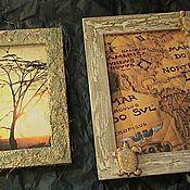 Сувениры и подарки ручной работы. Ярмарка Мастеров - ручная работа Рамки для фото или картин. Handmade.