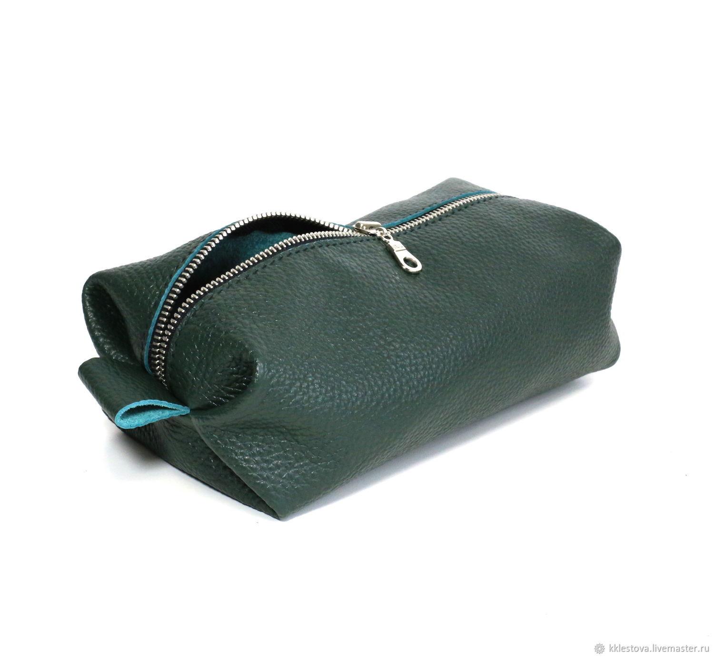 Sova Hand Painted Multi-Pocket Leather Bag