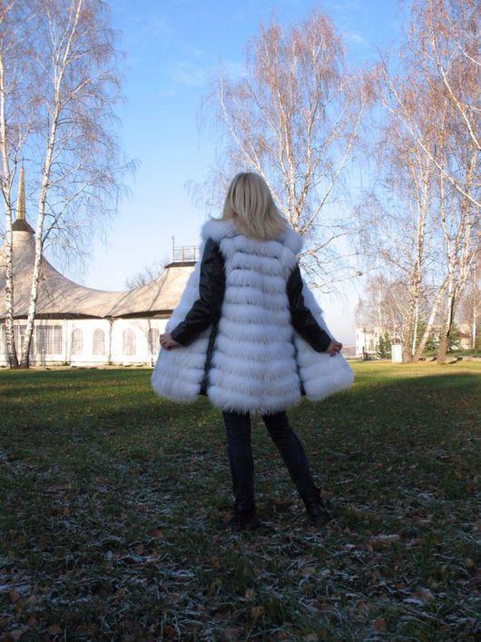 """Верхняя одежда ручной работы. Ярмарка Мастеров - ручная работа. Купить Куртка женская """" Белое и черное """". Handmade."""