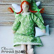 Куклы и игрушки ручной работы. Ярмарка Мастеров - ручная работа Текстильная кукла Сонный ангел. Handmade.