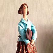 Куклы и игрушки handmade. Livemaster - original item my first teacher. Handmade.