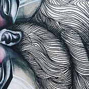 Картины и панно ручной работы. Ярмарка Мастеров - ручная работа Swans. Handmade.