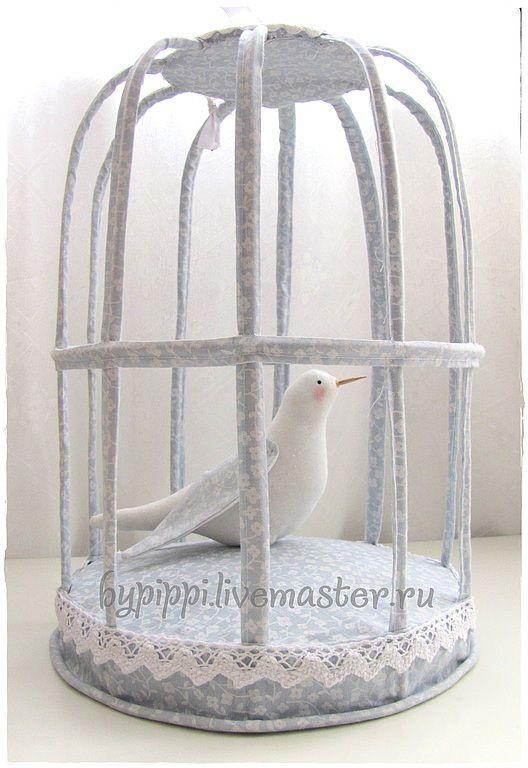 Как сделать клетку для птицы тильда