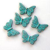 handmade. Livemaster - original item Beads: for butterfly jewelry. Handmade.