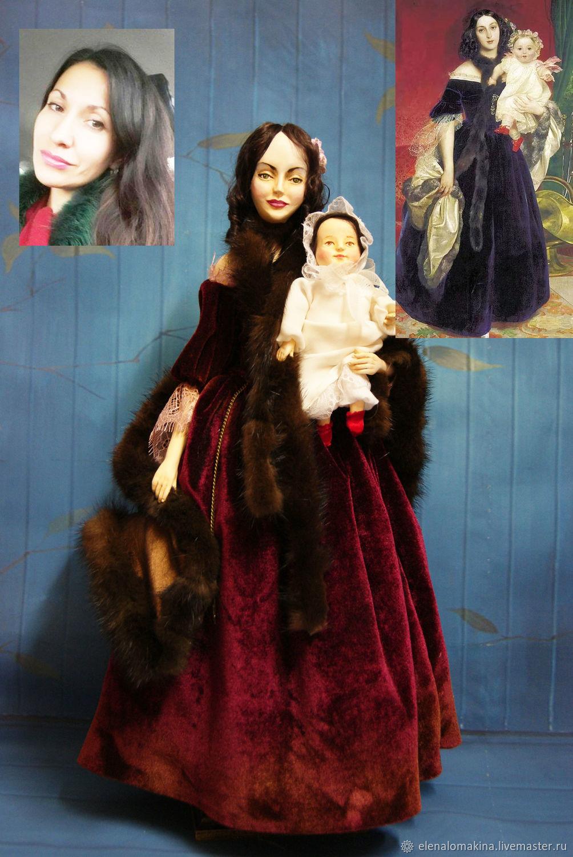 Портретные куклы ручной работы. Ярмарка Мастеров - ручная работа. Купить Портретная кукла (на заказ). Handmade. Портретная кукла