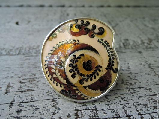 """Кольца ручной работы. Ярмарка Мастеров - ручная работа. Купить Кольцо """"Осеняя Поляна"""". Handmade. Разноцветный, zhizhi, золотой цвет"""