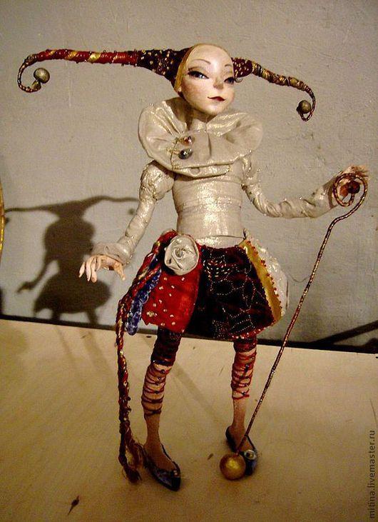 """Куклы и игрушки ручной работы. Ярмарка Мастеров - ручная работа. Купить Авторская кукла """"Девочка шут"""". Handmade. Авторская кукла"""