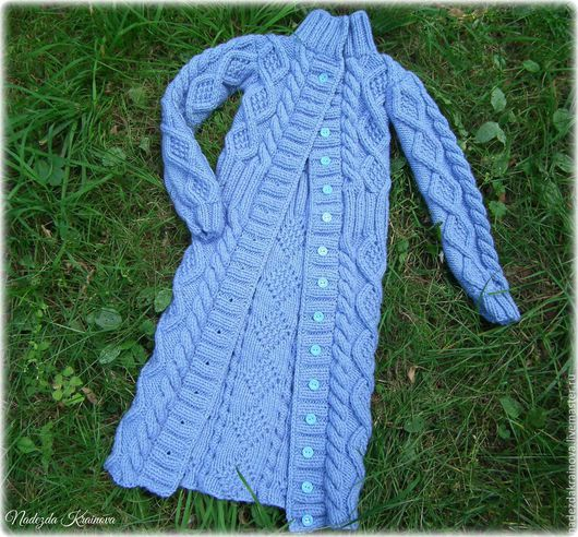 Одежда для девочек, ручной работы. Ярмарка Мастеров - ручная работа. Купить Детский кардиган. Handmade. Голубой, детская