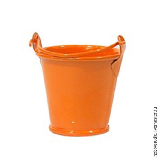 Ведерко оранжевое