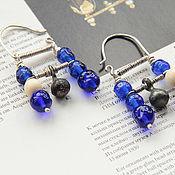 Украшения handmade. Livemaster - original item Triplet earrings