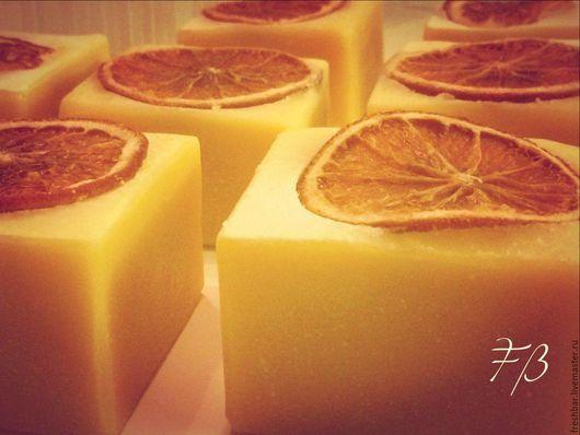 """Мыло ручной работы. Ярмарка Мастеров - ручная работа. Купить """"Святой Клемент"""" натуральное мыло с нуля. Handmade. Лимонный, мыло"""