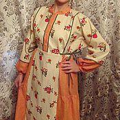 Одежда ручной работы. Ярмарка Мастеров - ручная работа платье ЦВТОЧЕК. Handmade.