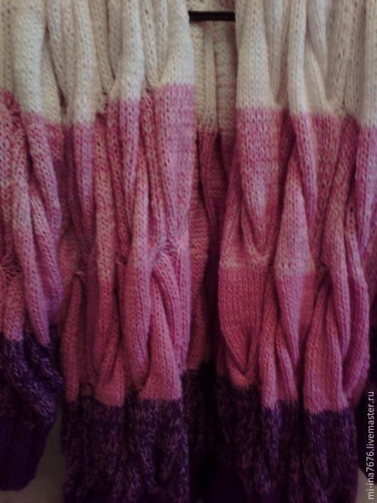 Кофты и свитера ручной работы. Ярмарка Мастеров - ручная работа. Купить Кардиган вязаный. Handmade. Разноцветный, кардиган ручной работы