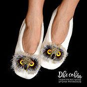 Обувь ручной работы handmade. Livemaster - original item Slippers - Peds Sowosky. Handmade.