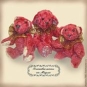 Куклы и игрушки ручной работы. Ярмарка Мастеров - ручная работа Миниатюра Папа, мама и я.. Handmade.
