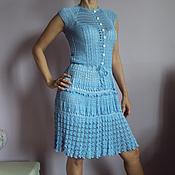 Одежда ручной работы. Ярмарка Мастеров - ручная работа платье по мотивам Ванессы Монторо. Handmade.