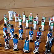 Куклы и игрушки handmade. Livemaster - original item Chess soldiers. Handmade.