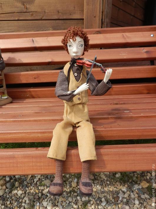 Коллекционные куклы ручной работы. Ярмарка Мастеров - ручная работа. Купить Мальчик Сулико (куклы с историей). Handmade. Разноцветный