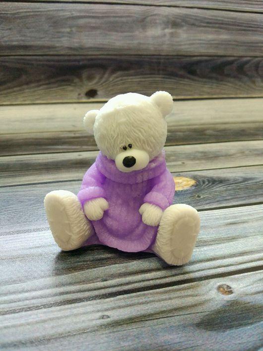 Мыло ручной работы. Ярмарка Мастеров - ручная работа. Купить Мишка Тедди в свитере.. Handmade. Мыло тедди