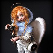"""Куклы и игрушки ручной работы. Ярмарка Мастеров - ручная работа АНГЕЛ """"Вам нужен мой свет?"""". Handmade."""