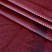 Материалы для творчества handmade. Livemaster - original item Genuine Marsala leather 1 mm. Handmade.