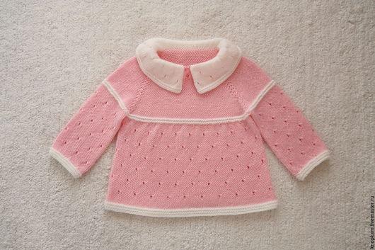 """Одежда для девочек, ручной работы. Ярмарка Мастеров - ручная работа. Купить Платье """"Зефирчик"""". Handmade. Розовый, платье на заказ"""