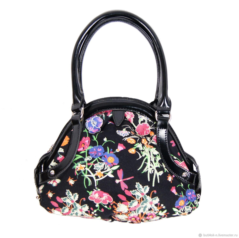 6f548ec5c Vintage Handbags & Purses. Livemaster - handmade. Buy Flower handbag made  of genuine leather ...