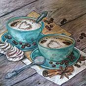 Картины ручной работы. Ярмарка Мастеров - ручная работа Картины: Завтрак для любимой. Handmade.