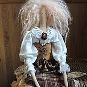 """Куклы и игрушки ручной работы. Ярмарка Мастеров - ручная работа Кукла Тильда в стиле """"Бохо"""". Скарлет.. Handmade."""