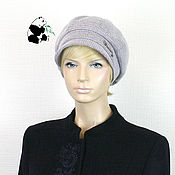 Аксессуары handmade. Livemaster - original item Stylish women`s cap octyklinka. Several colors. # №1. Handmade.