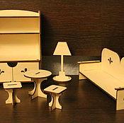 Куклы и игрушки handmade. Livemaster - original item Furniture for dolls. Handmade.