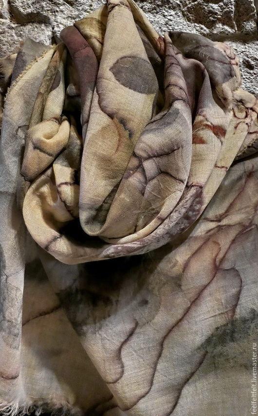 """Шарфы и шарфики ручной работы. Ярмарка Мастеров - ручная работа. Купить Шарф ручного крашения """"Кашемир"""". Handmade. Кашемир 100%"""