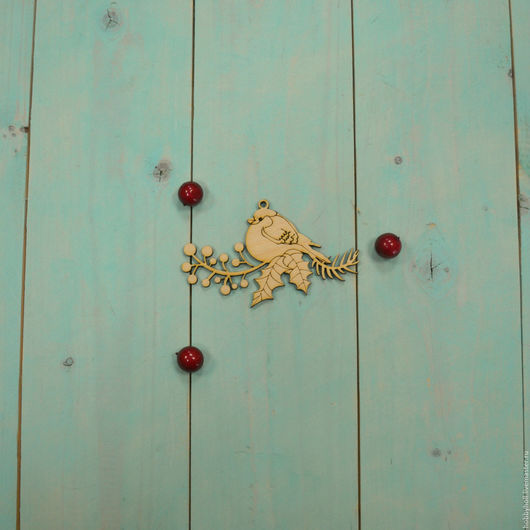 Декупаж и роспись ручной работы. Ярмарка Мастеров - ручная работа. Купить Ёлочная игрушка, снегирь. Handmade. Бежевый, снегирь, снегири