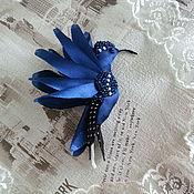 Украшения ручной работы. Ярмарка Мастеров - ручная работа Брошь - Синяя птица счастья.. Handmade.