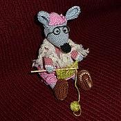 Куклы и игрушки handmade. Livemaster - original item Mouse