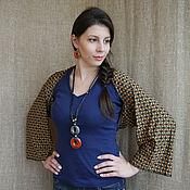 Одежда ручной работы. Ярмарка Мастеров - ручная работа Шраг-болеро-шарф  Этно. Handmade.
