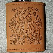 Фляга ручной работы. Ярмарка Мастеров - ручная работа Фляга с кельтским орнаментом. Handmade.