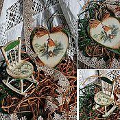 """Для дома и интерьера ручной работы. Ярмарка Мастеров - ручная работа набор """"Гнездышко"""". Handmade."""
