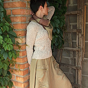 """Одежда ручной работы. Ярмарка Мастеров - ручная работа Юбка """"Ухожу в осень""""(бохо). Handmade."""