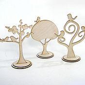 Материалы для творчества ручной работы. Ярмарка Мастеров - ручная работа Фигурки деревьев. Handmade.