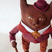 Куклы и игрушки ручной работы. Ярмарка Мастеров - ручная работа Кот-джентльмен. Handmade.