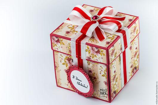 Подарки на свадьбу ручной работы. Ярмарка Мастеров - ручная работа. Купить Свадебная коробочка для денег (magic box). Handmade.